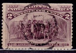 United States, USA, 1893, Columbian Exposition, 2c, Scott# 231, Used - Usati