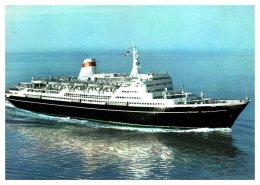 3423  Motor Ship Alexandr Pushkin, Baltic Steamship C0. - Steamers