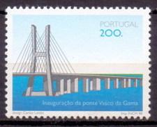 1998 Portugal Vasco Da Gama Bridge, Architecture (1v) MNH (M-171)