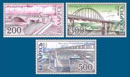 Belarus 2002 Mih. 464/66 Bridges MNH ** - Belarus