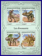 GUINEA REP. 2017 ** Dinosaurs Dinosaurier Dinosaures M/S - OFFICIAL ISSUE - DH1719 - Prehistorics