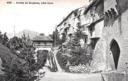[DC10064] CPA - SVIZZERA - ENTREE DE GRUYERES COTE NORD - Non Viaggiata - Old Postcard - FR Fribourg