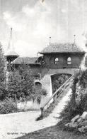[DC10065] CPA - SVIZZERA - GRUYERES PORTE DE LA VILLE - Non Viaggiata - Old Postcard - FR Fribourg