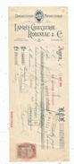 Mandat , 1909 , Droguerie Médicinale , Laprée - Chaucherie Robineau & Cie , Agen , 2 Scans ,  Frais Fr : 1.55 Euros - France