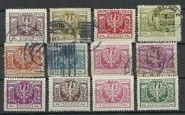 POLEN Poland 1924 Michel 191 - 200 */o - Unused Stamps