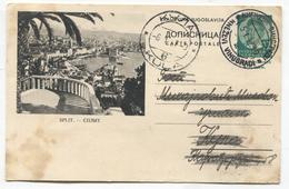 SPLIT ( Croatia ) - Kingdom Of Yugoslavia, Illustrated Stationery, 1937. - Yugoslavia