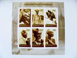 SALE! Burundi M/s 2010 Coiffures Traditional Hairstyles Smoking Pipe - Burundi