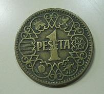 Spain 1 Peseta 1944 - [ 4] 1939-1947: Nationalistische Regering