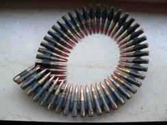 Bande De Mg  50 Cartouches Datée 11/40 Neutralisée - Decorative Weapons