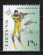 Lithuania 2006 Winter Olympic Games - Turin, Italy.MNH - Lithuania