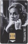 3 TELECARTES TELEPHONE ET CINEMA JEANNE MOREAU JEAN GABIN BERNARD BLIER - Cinema