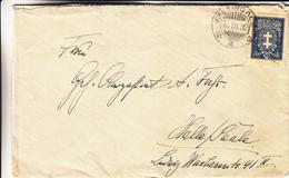 Lituanie - Lettre De 1932 - Oblit Kretingale - Exp Vers Halle En Allemagne - Litauen