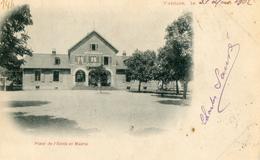 90    VALDOIE   Place De L'école Et La Mairie - Valdoie