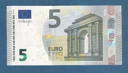 IRLANDA - 2013 - BANCONOTA DA 5 EURO FIRMA DRAGHI SERIE TC (T001F4) - NON CIRCOLATA (FDS-UNC) - IN OTTIME CONDIZIONI. - 5 Euro