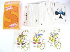 UN JEU DE 55 CARTES SPIROU (3 JOKERS) - 54 Cards