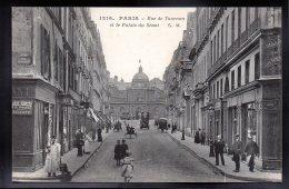 PARIS 75 - Rue De Tournon Et Le Plalais Du Sénat - District 06