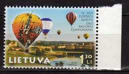 Lithuania 2003 The 13th European Hot Air Balloon Championships.MNH - Lithuania