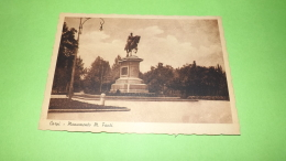 Carpi , Monumento A Manfredo Fanti,,,  No  Circolata ,,1942,cartolina ,, - Carpi