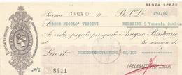 SALUMI VILLPELEGATTI VED. CHIARI  FORMAGGIO PARMIGIANO PADOVA - Bills Of Exchange