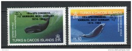 Turks And Caicos 1984. Yvert 695-96 ** MNH.