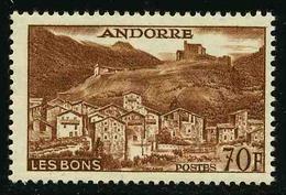 ANDORRE FRANCAIS - YT 152B ** - TIMBRE NEUF **