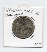 Australia - 1946 - 1 Fiorino - Argento - (FDC4616) - Australia