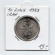 Iran - 1979 - 10 Rials - (FDC4617) - Iran