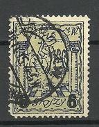 POLEN Poland 1915 Stadtpost Warschau Michel 6 I O - Gebraucht