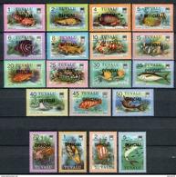 Tuvalu 1981. Yvert S 1-19 ** MNH. - Tuvalu