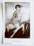 Old Post Card Film Cinema Movie Actor Actress Ross Olga Tschechowa 1799/1 - Actors