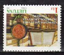 Lithuania 2002 The 150th Anniversary Of The State History Archives.MNH - Lithuania