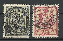 POLEN Poland 1915 Stadtpost Warschau Michel 1 - 2 O