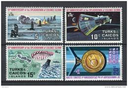 Turks And Caicos 1972. Yvert 286-89 ** MNH.