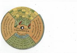 LCTN47/5 - CALENDRIER PERPETUEL 1843 / 1955 - Kalenders