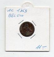 Belgio - 1869 - 1 Centesimo Leopoldo II° - (FDC4620) - 1865-1909: Leopoldo II