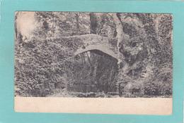Old Postcard Of Stone Bridge,Horner,Somerset, England.Posted,Y17. - Altri