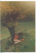 David Hamilton - Ed Agep N°74 Cp Vierge (lecture Sous Un Arbre) - Altri Fotografi