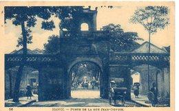Vietnam        HANOÏ        Porte De La Rue Jean DUPUIS - Viêt-Nam