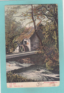 Old Postcard Of Old Mill,Rouken Glen,East Renfrewshire.Posted,Y17. - Renfrewshire