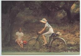 David Hamilton - Ed Agep N°73 Cp Vierge (promenade à Bicyclette) - Künstlerkarten
