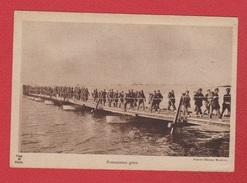 Pontonniers Grecs --  Publicitée Ricqles Au Dos - War 1914-18