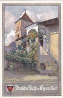 Deutscher Ansitz In Eppan - Tirol - Deutscher Schulverein Karte Nr. 329 - Italia