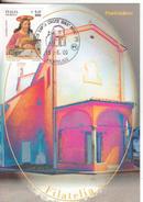 104-Marcofilia-Annullo Speciale-Tema:Religione-Turismo-Città D'Italia-Santa Croce Sull'Arno-2000-Santuario Di S.Rocco - 6. 1946-.. Repubblica