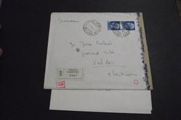 Letter Cortina D Ampezzo-Veldes (Bled) 29.8.1942    WWII - 1931-1941 Kingdom Of Yugoslavia