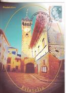 106-Marcofilia-Annullo Speciale-Tema:Turismo-Città D'Italia-Figline Valdarno-Firenze-2000-Scorcio - 6. 1946-.. Repubblica