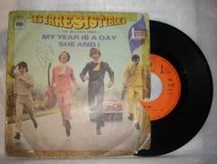 1968 _ Disque 45 T - ' My Year Is A Day ' Par '  Les Irrésistibles ' - Disco, Pop