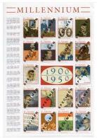 Saint Vincent Grenadines 2000 Millenium Albert EINSTEIN FREUD HUBBLE GANDHI Specimen