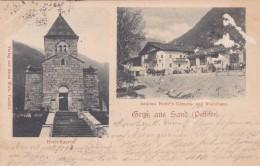 Gruß Aus Sand (Passeier) - 2 Bilder * 12. 6. 1900 - Italia