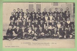 LA PACAUDIERE : Première Communion Solennelle, 7 Mai 1911. 2 Scans. Edition Echo De Tourzy - La Pacaudiere