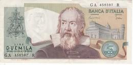 BILLETE DE ITALIA DE 2000 LIRAS DEL AÑO 1983  GALILEO  (BANKNOTE) - [ 2] 1946-… : Républic